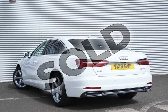 Image three of this 2019 Audi A6 Diesel Saloon 40 TDI Sport 4dr S Tronic in Ibis White at Coventry Audi