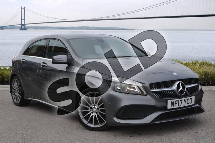 Picture of Mercedes-Benz A Class A200d AMG Line Executive 5dr in Mountain Grey