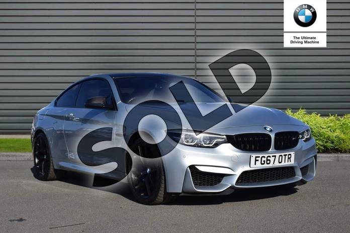 Picture of BMW M4 M4 2dr DCT (Competition Pack) in Silverstone II