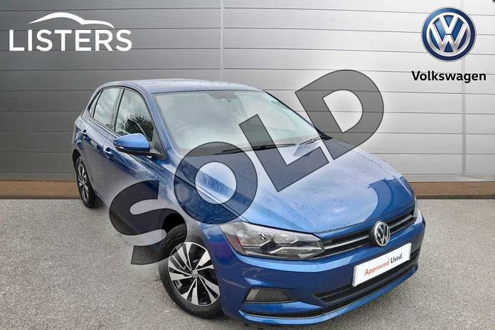 Picture of Volkswagen Polo 1.0 TSI 95 SE 5dr in Reef Blue