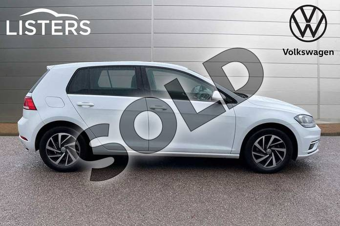 Image four of this 2019 Volkswagen Golf Diesel Hatchback 1.6 TDI Match 5dr in Pure white at Listers Volkswagen Loughborough