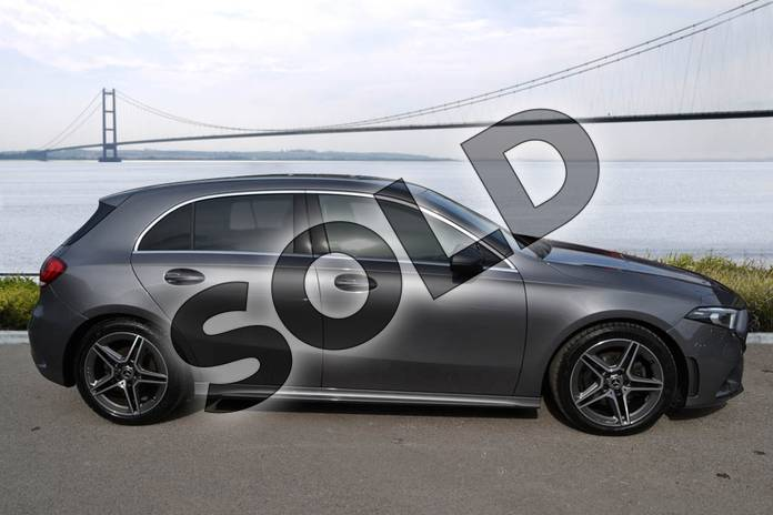 Image four of this 2020 Mercedes-Benz A Class Diesel Hatchback A200d AMG Line 5dr Auto in Mountain Grey Metallic at Mercedes-Benz of Hull