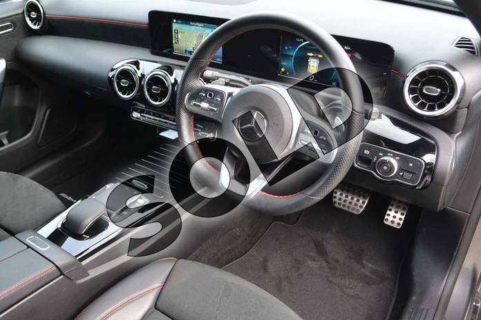 Image nine of this 2020 Mercedes-Benz A Class Diesel Hatchback A200d AMG Line 5dr Auto in Mountain Grey Metallic at Mercedes-Benz of Hull