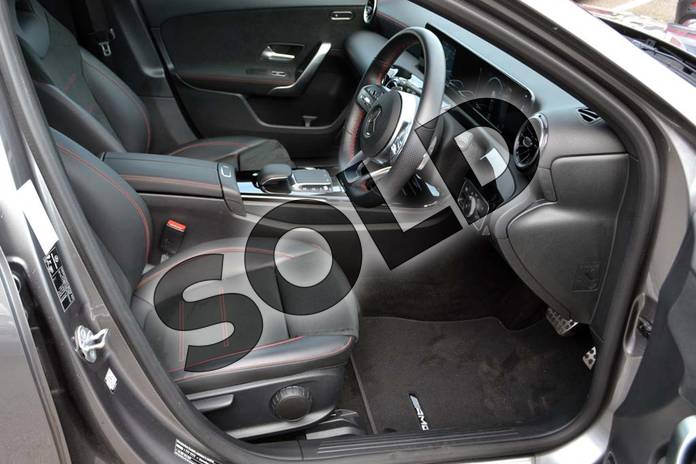 Image ten of this 2020 Mercedes-Benz A Class Diesel Hatchback A200d AMG Line 5dr Auto in Mountain Grey Metallic at Mercedes-Benz of Hull