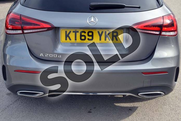 Image thirty-three of this 2020 Mercedes-Benz A Class Diesel Hatchback A200d AMG Line 5dr Auto in Mountain Grey Metallic at Mercedes-Benz of Hull
