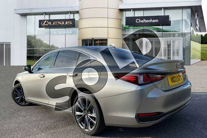 Image three of this 2021 Lexus ES 300h 2.5  Tech Pack & Safety Pack  F SPORT in Silver at Lexus Cheltenham
