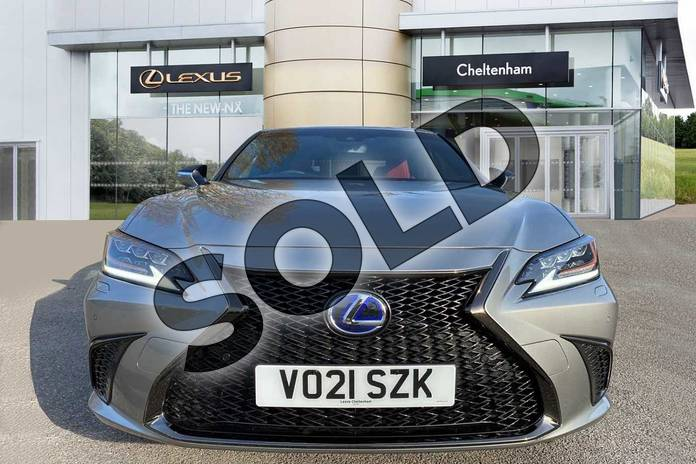 Image seven of this 2021 Lexus ES 300h 2.5  Tech Pack & Safety Pack  F SPORT in Silver at Lexus Cheltenham