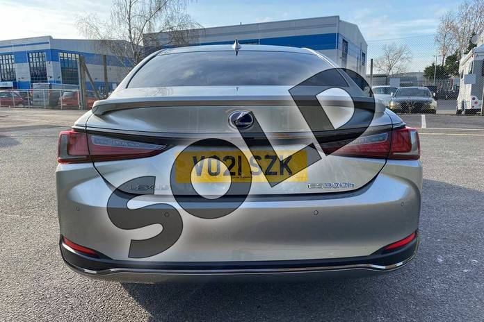 Image eleven of this 2021 Lexus ES 300h 2.5  Tech Pack & Safety Pack  F SPORT in Silver at Lexus Cheltenham