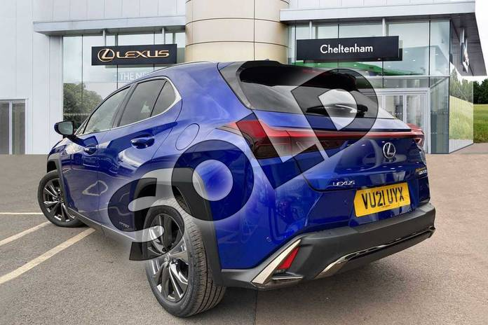 Image three of this 2021 Lexus UX Hatchback 250h 2.0 F-Sport 5dr CVT (Nav) in Blue at Lexus Cheltenham