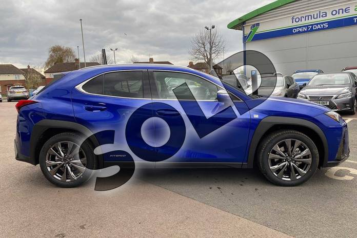 Image four of this 2021 Lexus UX Hatchback 250h 2.0 F-Sport 5dr CVT (Nav) in Blue at Lexus Cheltenham
