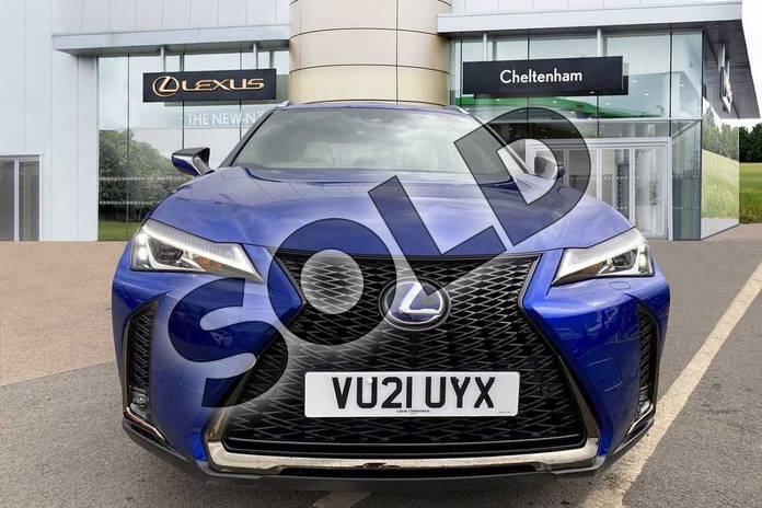 Image seven of this 2021 Lexus UX Hatchback 250h 2.0 F-Sport 5dr CVT (Nav) in Blue at Lexus Cheltenham