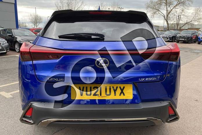 Image eleven of this 2021 Lexus UX Hatchback 250h 2.0 F-Sport 5dr CVT (Nav) in Blue at Lexus Cheltenham