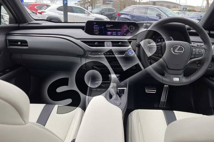 Image twelve of this 2021 Lexus UX Hatchback 250h 2.0 F-Sport 5dr CVT (Nav) in Blue at Lexus Cheltenham