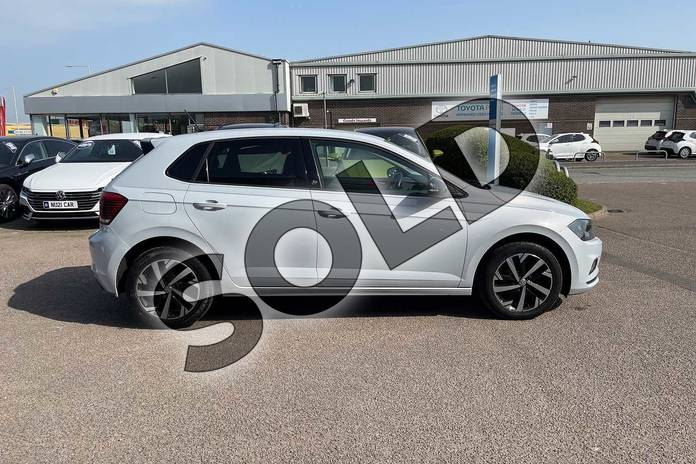 Image four of this 2018 Volkswagen Polo Hatchback 1.0 TSI 95 Beats 5dr in White Silver at Listers Volkswagen Loughborough