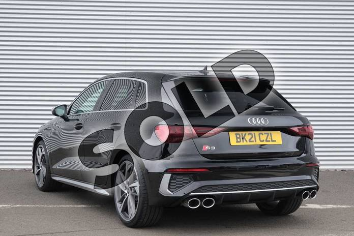 Image three of this 2021 Audi A3 Sportback S3 TFSI Quattro 5dr S Tronic in Myth Black Metallic at Coventry Audi