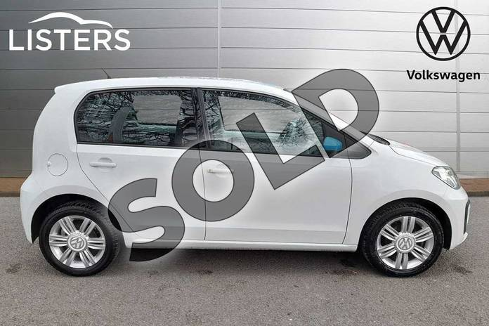 Image four of this 2018 Volkswagen Up Hatchback 1.0 High Up 5dr in Pure White at Listers Volkswagen Worcester