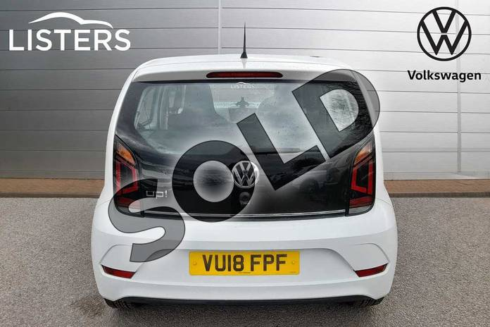 Image nine of this 2018 Volkswagen Up Hatchback 1.0 High Up 5dr in Pure White at Listers Volkswagen Worcester