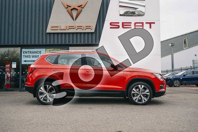 Image four of this 2019 SEAT Ateca Diesel Estate 2.0 TDI SE Technology (EZ) 5dr in Red at Listers SEAT Coventry