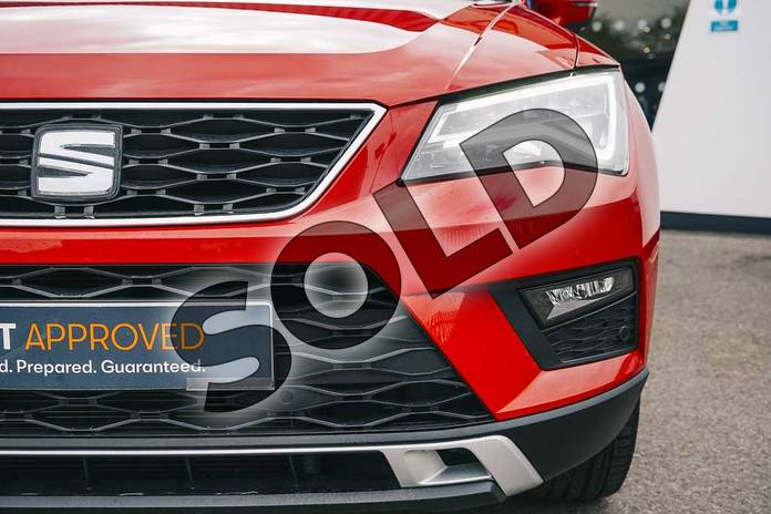 Image eight of this 2019 SEAT Ateca Diesel Estate 2.0 TDI SE Technology (EZ) 5dr in Red at Listers SEAT Coventry