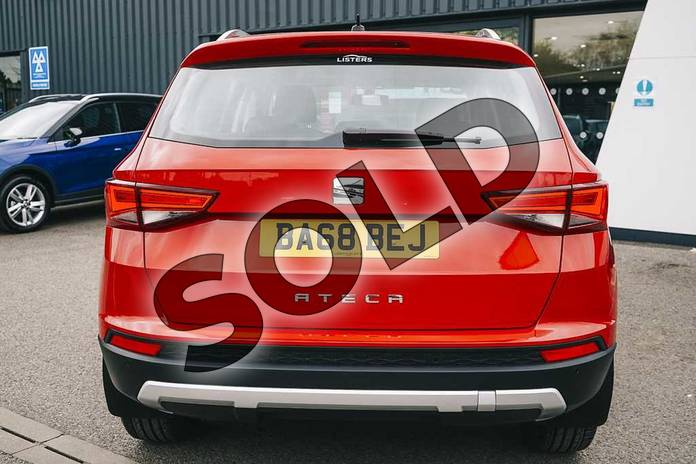 Image ten of this 2019 SEAT Ateca Diesel Estate 2.0 TDI SE Technology (EZ) 5dr in Red at Listers SEAT Coventry