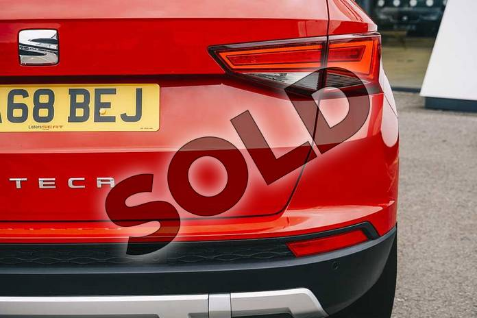 Image eleven of this 2019 SEAT Ateca Diesel Estate 2.0 TDI SE Technology (EZ) 5dr in Red at Listers SEAT Coventry