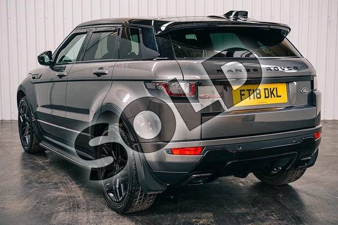 Image two of this 2018 Range Rover Evoque 2.0 SD4 (240hp) HSE Dynamic in Corris Grey at Listers Land Rover Solihull