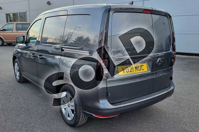 Image three of this 2021 Volkswagen Caddy Cargo C20 Petrol 1.5 TSI 114PS Commerce Plus Van in Indium Grey at Listers Volkswagen Van Centre Worcestershire