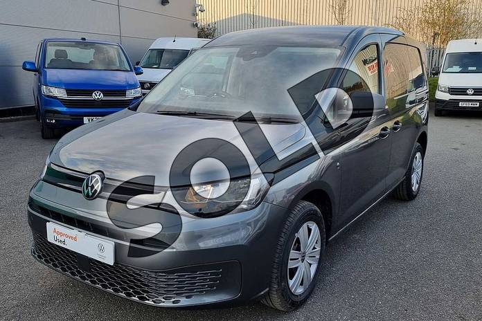 Image five of this 2021 Volkswagen Caddy Cargo C20 Petrol 1.5 TSI 114PS Commerce Plus Van in Indium Grey at Listers Volkswagen Van Centre Worcestershire