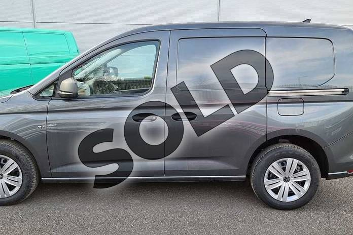 Image six of this 2021 Volkswagen Caddy Cargo C20 Petrol 1.5 TSI 114PS Commerce Plus Van in Indium Grey at Listers Volkswagen Van Centre Worcestershire