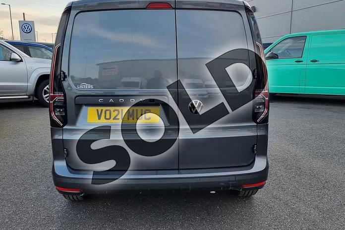 Image nine of this 2021 Volkswagen Caddy Cargo C20 Petrol 1.5 TSI 114PS Commerce Plus Van in Indium Grey at Listers Volkswagen Van Centre Worcestershire