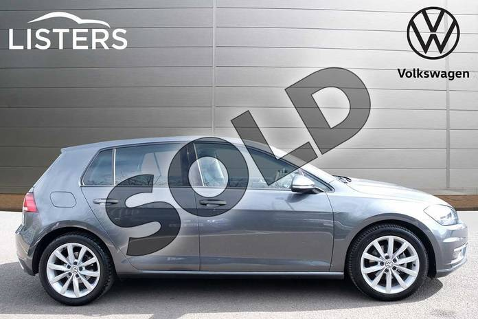Image four of this 2018 Volkswagen Golf Diesel Hatchback 1.6 TDI GT 5dr DSG in Indium Grey at Listers Volkswagen Leamington Spa