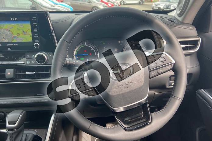 Image six of this 2021 Toyota Highlander Estate 2.5 VVT-i Hybrid Excel 5dr CVT in Silver at Listers Toyota Coventry