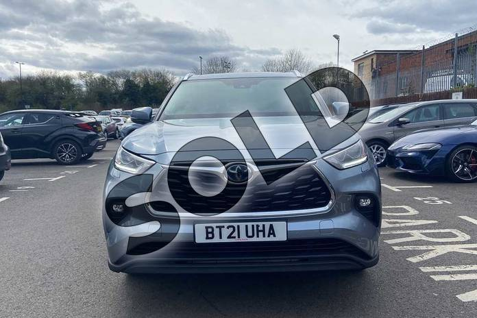Image fifteen of this 2021 Toyota Highlander Estate 2.5 VVT-i Hybrid Excel 5dr CVT in Silver at Listers Toyota Coventry