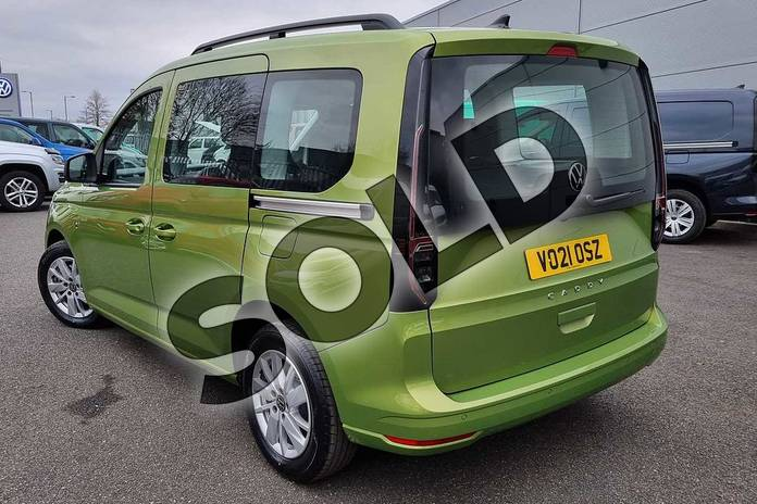 Image three of this 2021 Volkswagen Caddy Diesel Estate 2.0 TDI 122 Life 5dr DSG in Golden Green at Listers Volkswagen Van Centre Worcestershire