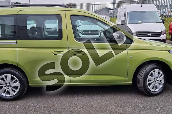 Image four of this 2021 Volkswagen Caddy Diesel Estate 2.0 TDI 122 Life 5dr DSG in Golden Green at Listers Volkswagen Van Centre Worcestershire