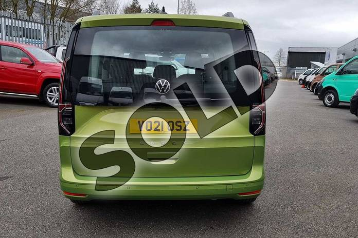Image eleven of this 2021 Volkswagen Caddy Diesel Estate 2.0 TDI 122 Life 5dr DSG in Golden Green at Listers Volkswagen Van Centre Worcestershire