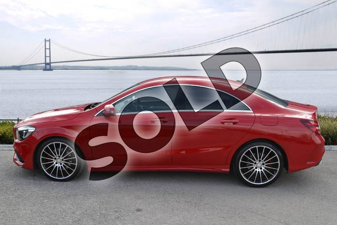 Image four of this 2017 Mercedes-Benz CLA Coupe CLA 250 AMG 4dr Tip Auto in jupiter red at Mercedes-Benz of Hull