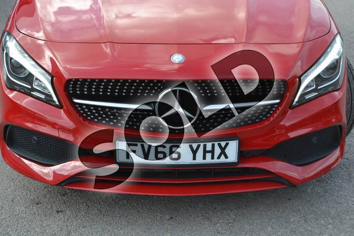 Image eighteen of this 2017 Mercedes-Benz CLA Coupe CLA 250 AMG 4dr Tip Auto in jupiter red at Mercedes-Benz of Hull