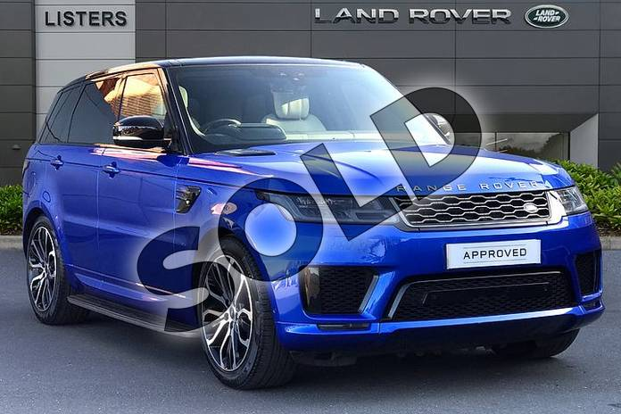 Picture of Range Rover Sport 3.0 SDV6 HSE Dynamic 5dr Auto in 'SVO Premium Palette' Blue
