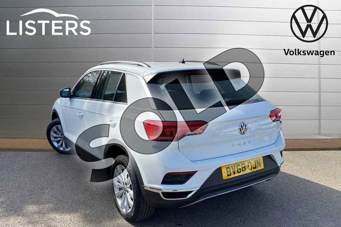 Image three of this 2019 Volkswagen T-Roc Diesel Hatchback 1.6 TDI SE 5dr in Pure White at Listers Volkswagen Coventry
