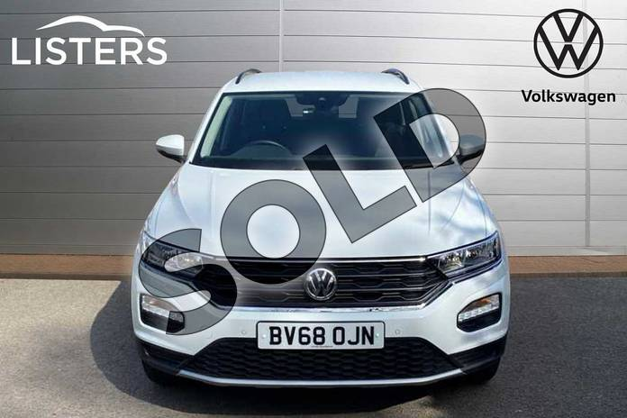 Image seven of this 2019 Volkswagen T-Roc Diesel Hatchback 1.6 TDI SE 5dr in Pure White at Listers Volkswagen Coventry