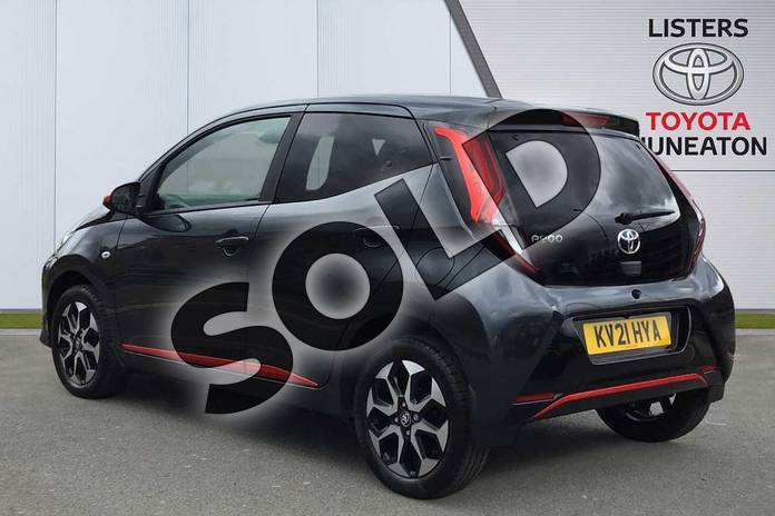 Image four of this 2021 Toyota Aygo Hatchback 1.0 VVT-i X-Trend TSS 5dr x-shift in Grey at Listers Toyota Nuneaton
