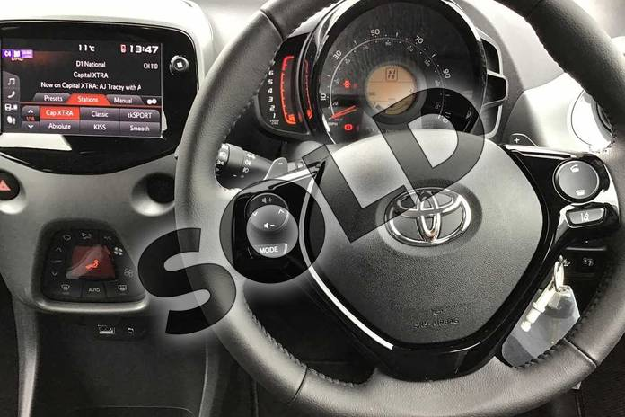 Image six of this 2021 Toyota Aygo Hatchback 1.0 VVT-i X-Trend TSS 5dr x-shift in Grey at Listers Toyota Nuneaton