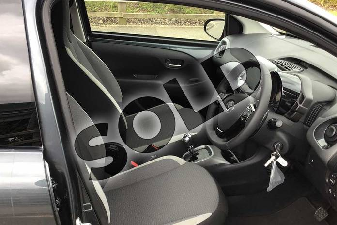 Image eleven of this 2021 Toyota Aygo Hatchback 1.0 VVT-i X-Trend TSS 5dr x-shift in Grey at Listers Toyota Nuneaton