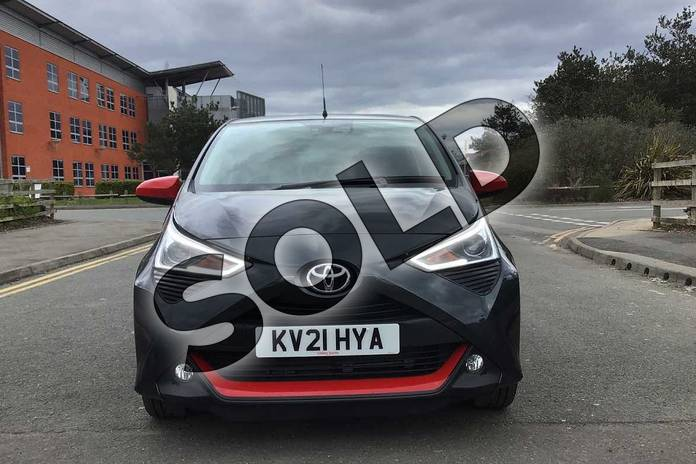 Image fifteen of this 2021 Toyota Aygo Hatchback 1.0 VVT-i X-Trend TSS 5dr x-shift in Grey at Listers Toyota Nuneaton