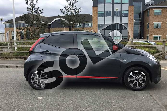 Image sixteen of this 2021 Toyota Aygo Hatchback 1.0 VVT-i X-Trend TSS 5dr x-shift in Grey at Listers Toyota Nuneaton