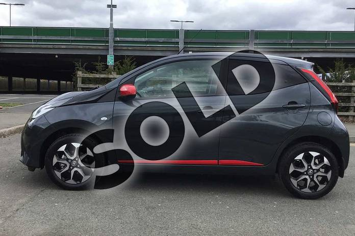 Image seventeen of this 2021 Toyota Aygo Hatchback 1.0 VVT-i X-Trend TSS 5dr x-shift in Grey at Listers Toyota Nuneaton