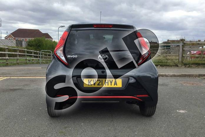 Image nineteen of this 2021 Toyota Aygo Hatchback 1.0 VVT-i X-Trend TSS 5dr x-shift in Grey at Listers Toyota Nuneaton