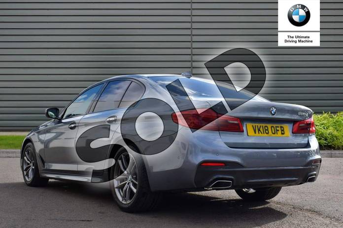 Image two of this 2018 BMW 5 Series Diesel Saloon 520d M Sport 4dr Auto in Bluestone at Listers Boston (BMW)