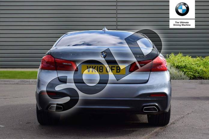 Image fifteen of this 2018 BMW 5 Series Diesel Saloon 520d M Sport 4dr Auto in Bluestone at Listers Boston (BMW)